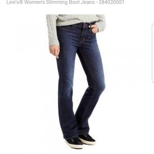 Levi's Slimming Boot Jeans